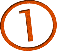 image of the number 1 circled