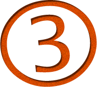 image of the number 3 circled