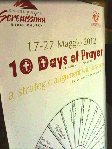 Serenissima Prayer Wheel Initiative