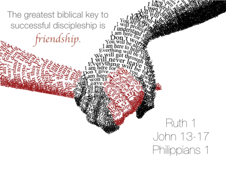 friendship is the key to discipleship